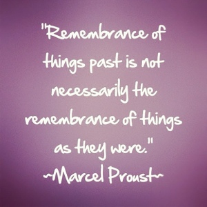 proust things past